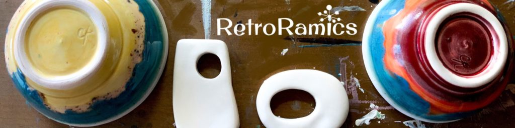 RetroRamics logo from etsy